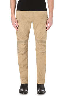 RALPH LAUREN BLACK LABEL Piston slim-fit moto jean