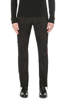 RALPH LAUREN BLACK LABEL Panelled slim-fit jeans