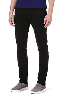 RALPH LAUREN BLACK LABEL Slim-fit tapered jeans