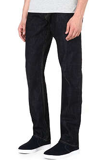 RALPH LAUREN BLACK LABEL Regular-fit straight jeans