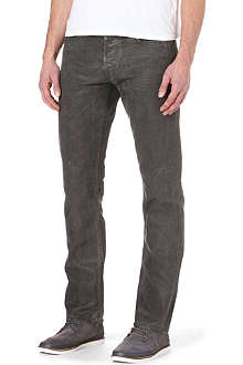 RALPH LAUREN BLACK LABEL Slim-fit straight jeans