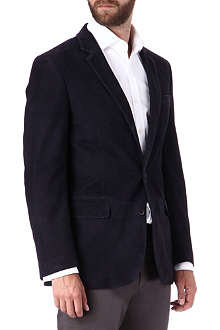 RALPH LAUREN BLACK LABEL Anthony suede blazer