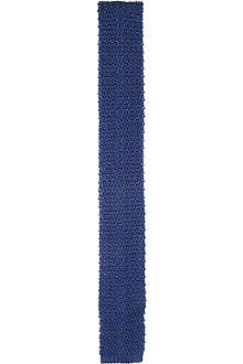 RALPH LAUREN BLACK LABEL Knitted silk tie