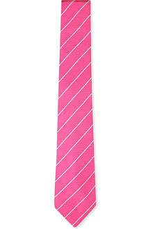 RALPH LAUREN BLACK LABEL Striped silk tie