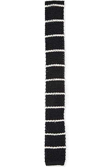 RALPH LAUREN BLACK LABEL Fully finished knitted tie