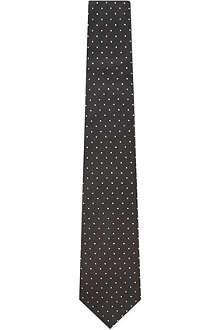 RALPH LAUREN BLACK LABEL Standard dot tie