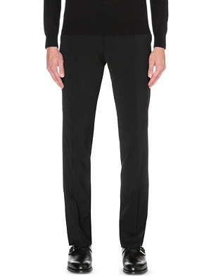 RALPH LAUREN BLACK LABEL Anthony slim-fit wool trousers
