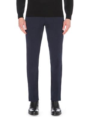 RALPH LAUREN BLACK LABEL James stretch-cotton trousers