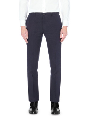 RALPH LAUREN BLACK LABEL Nigel linen trousers