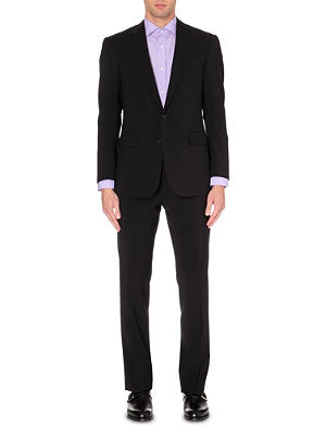 RALPH LAUREN BLACK LABEL Anthony single-breasted wool suit