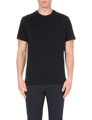 RALPH LAUREN BLACK LABEL Patch-pocket cotton-jersey t-shirt