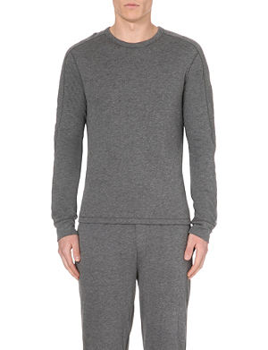 RALPH LAUREN BLACK LABEL Crew-neck knitted jumper