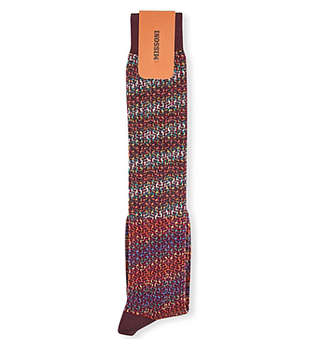 MISSONI Striped socks (Borduex