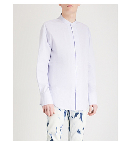 WOOYOUNGMI Layered cotton shirt (Sky