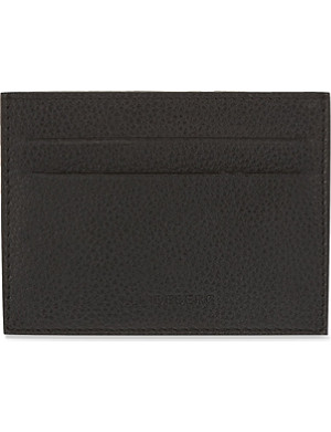 J LINDEBERG Leather card holder