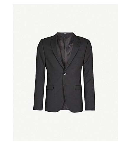 TIGER OF SWEDEN Slim-fit wool blazer (Black