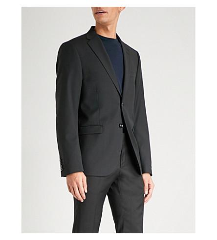 TIGER OF SWEDEN Slim-fit wool jacket (Black