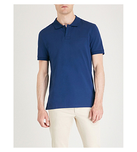 SWEDEN Polo algodón OF TIGER de bordado con Osron Azul 5FxES1qwZ