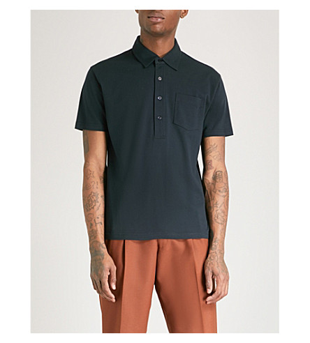 Cotton SWEDEN Ink TIGER OF TIGER shirt OF piqu polo AqRa1Ixntw
