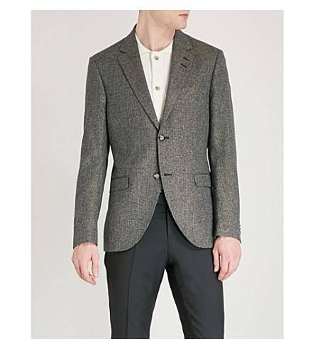 TIGER OF SWEDEN Lamonte regular-fit linen-blend jacket (Beige