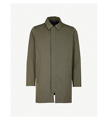 TIGER OF SWEDEN Brumos shell overcoat (Green