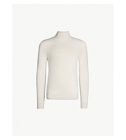 TIGER OF SWEDEN Nevile wool sweater (Gardenia