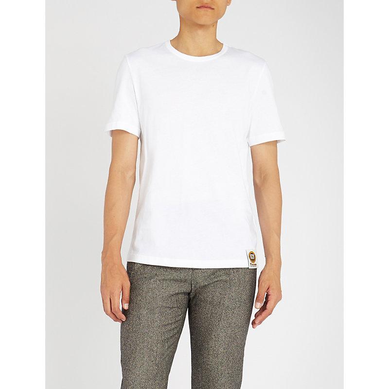 TIGER OF SWEDEN Crewneck cotton-jersey T-shirt