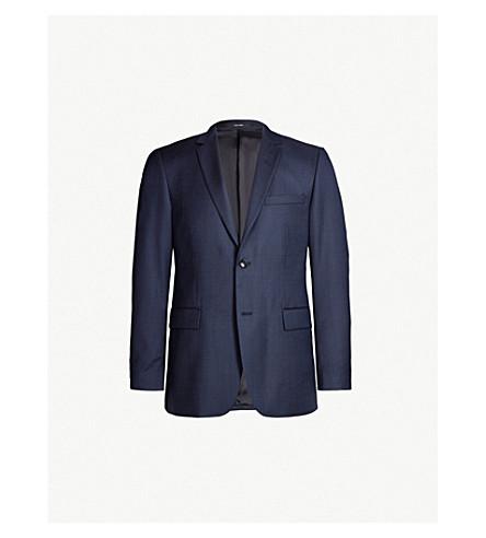 TIGER OF SWEDEN Birdseye slim-fit wool blazer (Blue