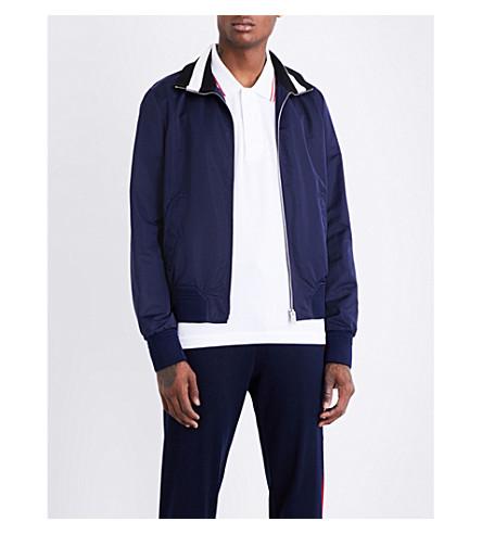 BALLY Shell tracksuit jacket (Marine+17