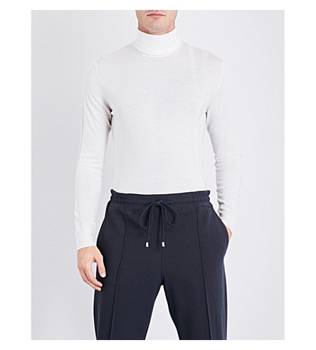 BALLY Turtleneck wool jumper (Bone