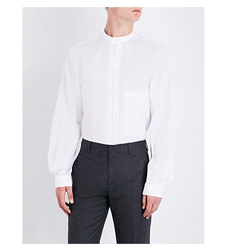 JOSEPH Winster slim-fit cotton shirt (White