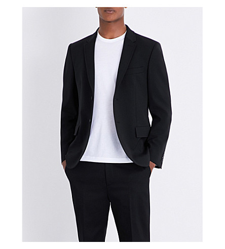 JOSEPH Reading wool-blend blazer (Black