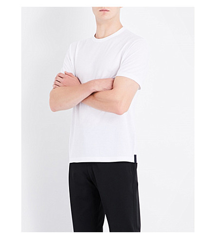 JOSEPH Crewneck cotton-jersey T-shirt (White