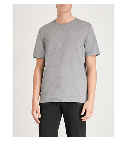 de de JOSEPH Camiseta jersey gris punto algodón q5HgH6U