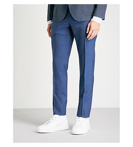 SLOWEAR Slim-fit Super 130s trousers (Blue