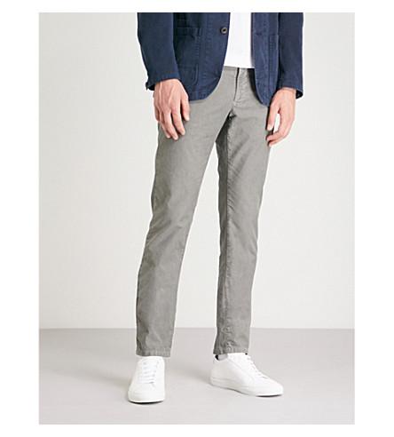 prenda fit Pantalón de algodón Gris en claro slim SLOWEAR elástico teñido 8pwqTqC