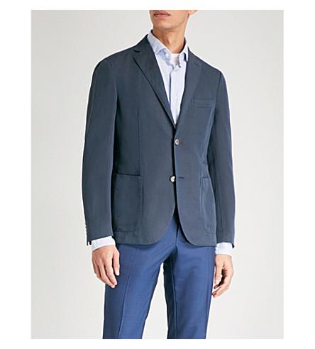 SLOWEAR Slim-fit chino jacket (Navy