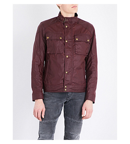 BELSTAFF Racemaster cotton jacket (Cardinal+red
