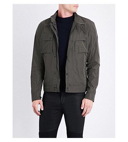 BELSTAFF Racemaster shell jacket (Green