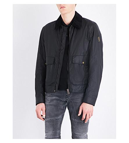 BELSTAFF Mentmore Blouson cotton jacket (Black