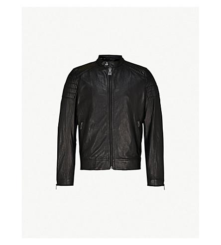 BELSTAFF Northcott leather biker jacket (Black
