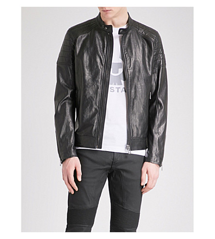 BELSTAFF Northcott leather biker jacket (Black