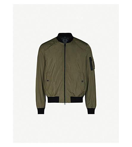 BELSTAFF Mallison shell bomber jacket (Slate green