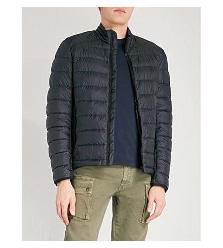 BELSTAFF Ryegate shell-down jacket (Dark+ink