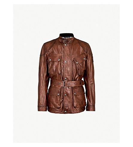 BELSTAFF The Panther leather jacket (Black