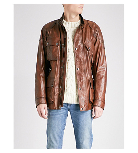 BELSTAFF The Panther leather jacket (Black