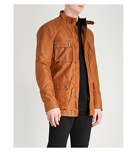 BELSTAFF Roadmaster waxed-cotton jacket (Sepia