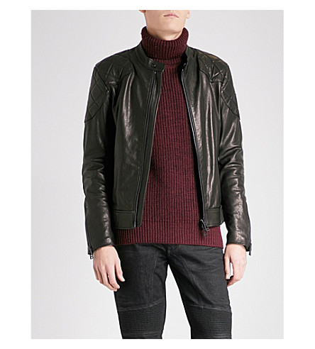 BELSTAFF The Outlaw leather jacket (Cognac