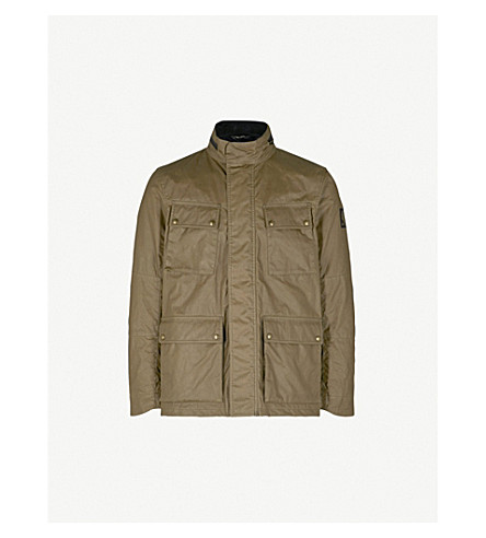 BELSTAFF Explorer waxed-cotton jacket (Capers