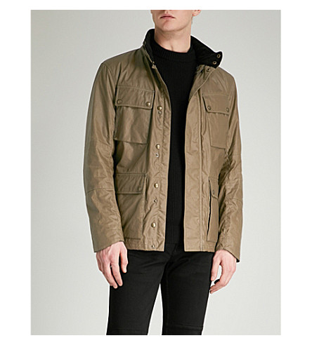 BELSTAFF Explorer waxed-cotton jacket (Capers